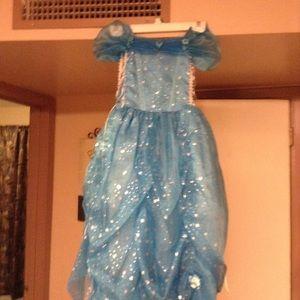 Bijan Kids Turquoise Ball Dress